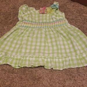 Girl Dress - 6-9 month